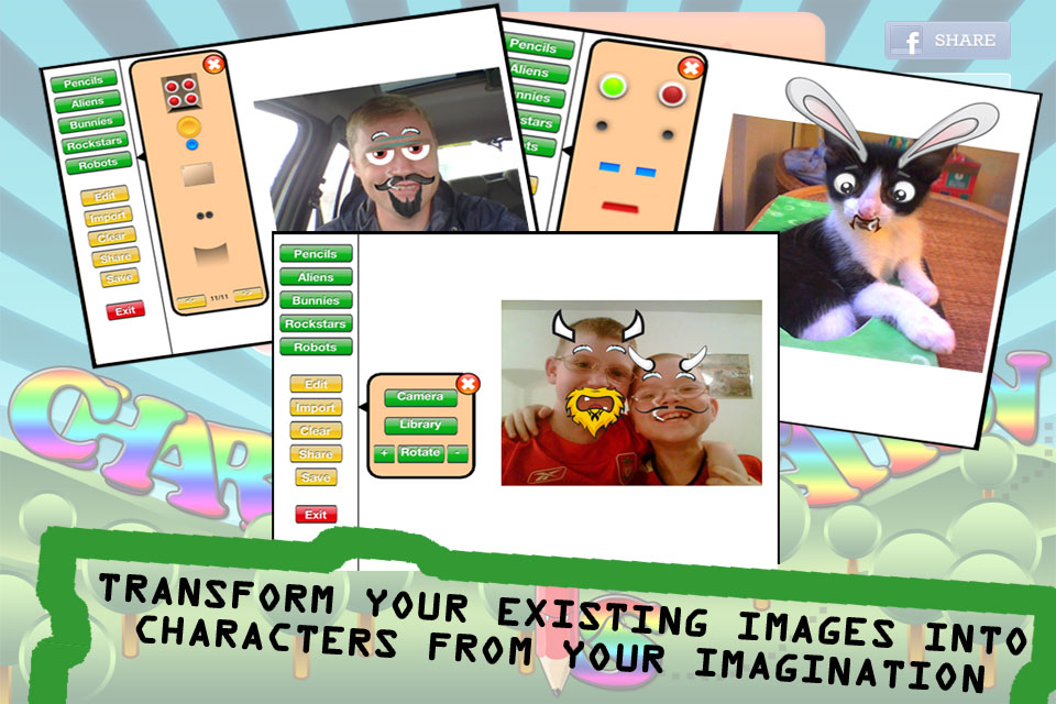 Character Creations - Educational App
